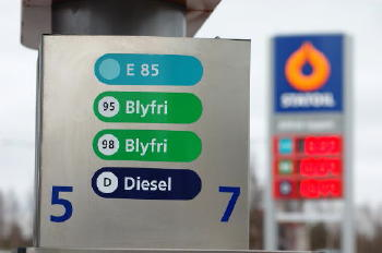 Tanksäule in Schweden