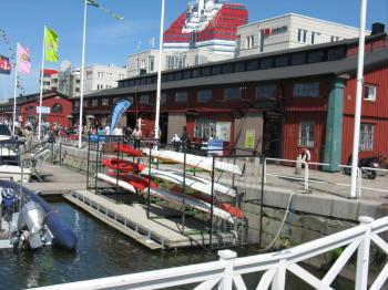 Kajak Center Göteborg Lilla Bommen