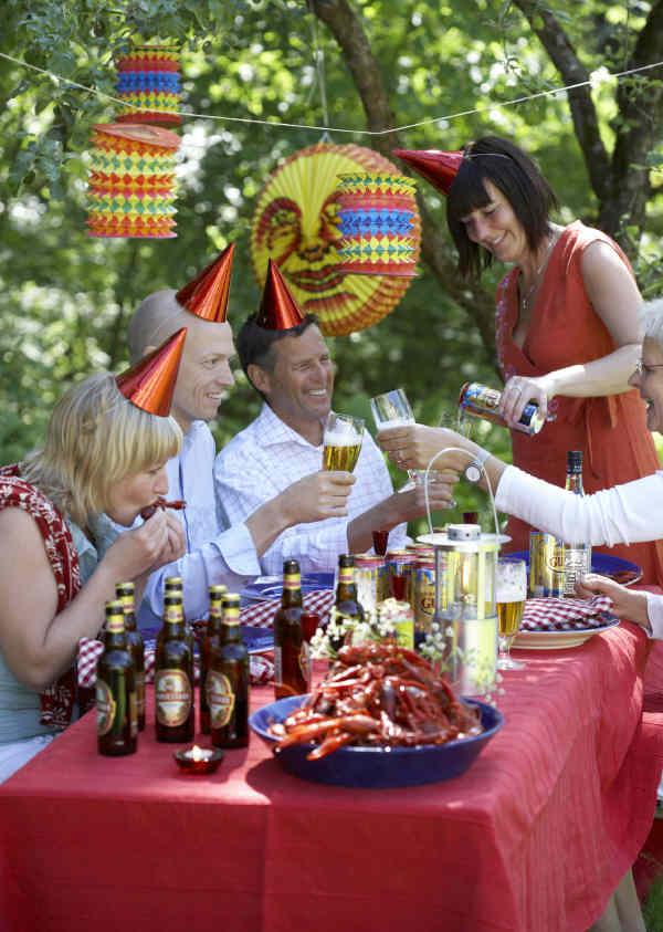Kr Ftskiva Das Schwedische Krebsfest