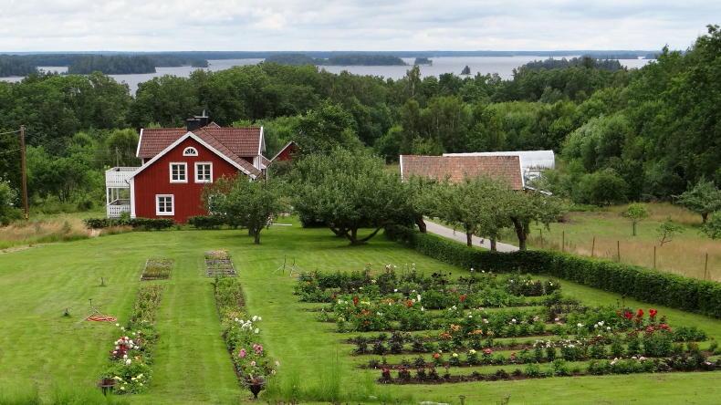 Kurrebo am See Åsnen