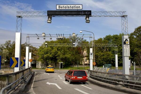 Straßenmaut in Stockholm