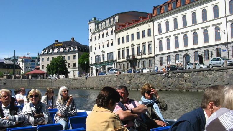 Paddan-Tour in Göteborg