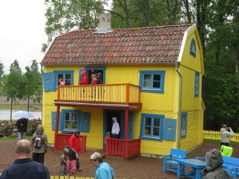 Die neue Villa Kunterbunt
