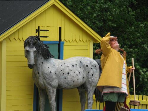 Pippi Langstrumpf bei Astrid Lindgrens Welt, Vimmerby