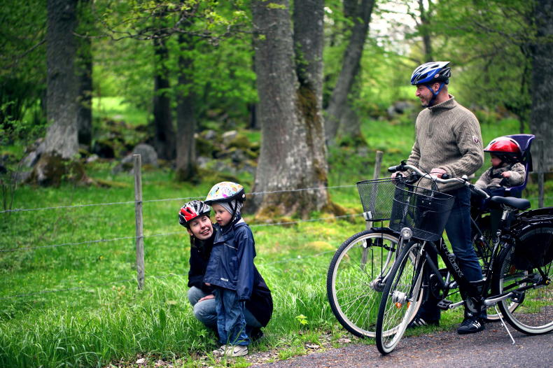 Radfahren in Schweden