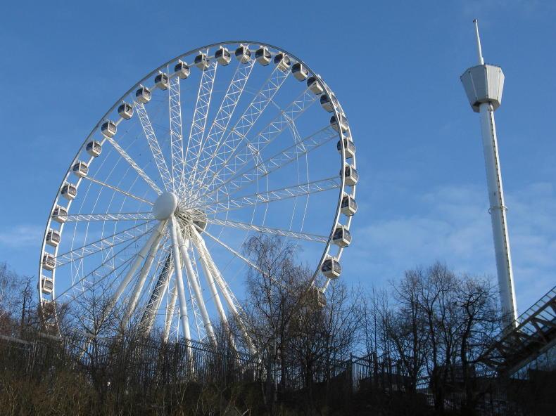 Neues Riesenrad auf Liseberg