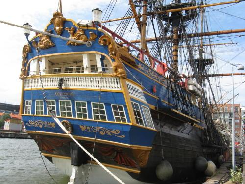 Das Segelschiff Götheborg