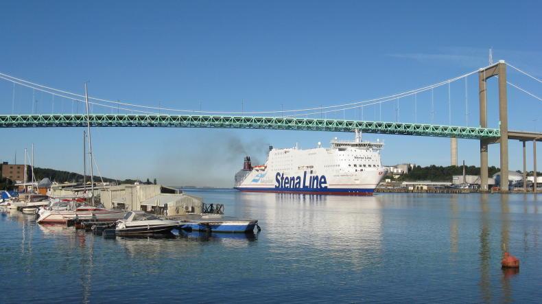 Stena Germanica im Hafen von Göteborg