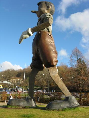 Jim Dines Pinocchio in Borås