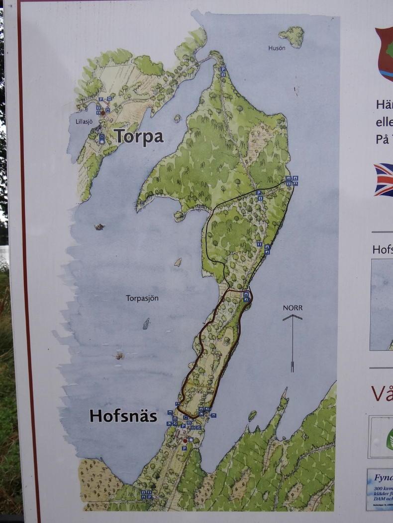Karte von Torpanäset