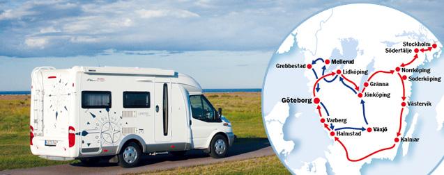 Wohnmobil-Reisen durch Schweden