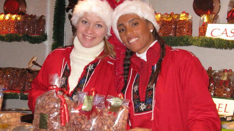 Weihnachtsmarkt auf Liseberg in Göteborg