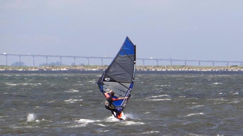 Windsurfen in Schweden