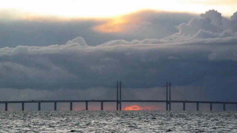 Malmö und die Öresund-Brücke, Bild: Carina Nordgren