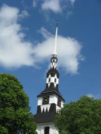Kirchturm in Ingatorp