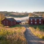 """Die Bauernhöfe in Hälsingland (""""Hälsingegårdar"""")"""