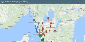 Ausflüge und Tagesausflüge in die Umgebung von Göteborg