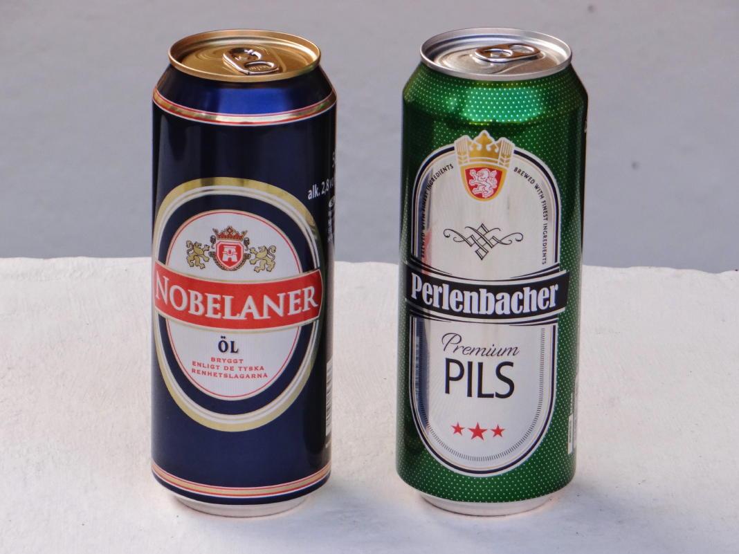 Bier, Wein und andere alkoholische Getränke in Schweden