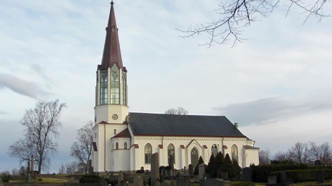 Lichtkirche: Skallsjö kyrka in Floda