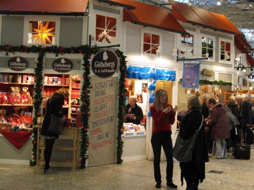 Weihnachtsmarkt im Einkaufzentrum Nordstan