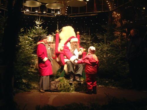 Der Weihnachtsmann auf Liseberg