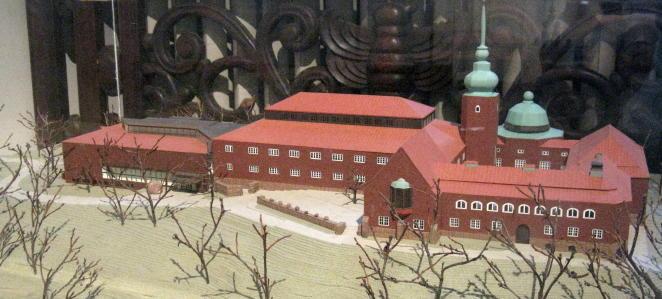 Modell des Naturhistorischen Museums