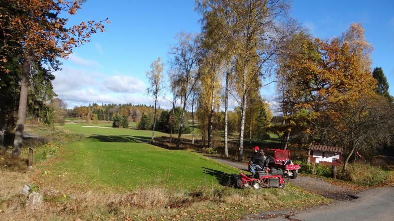 Golfen in Schweden