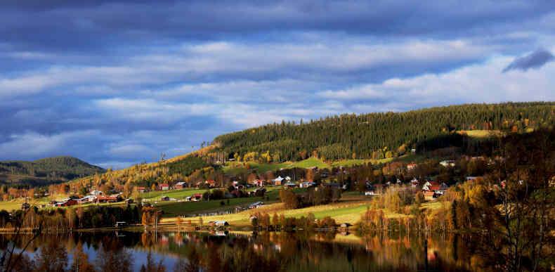 Klövsjö, Schwedens schönstes Dorf