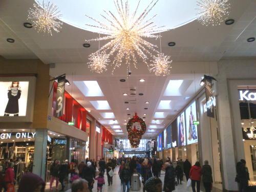 Nordstan zu Weihnachten