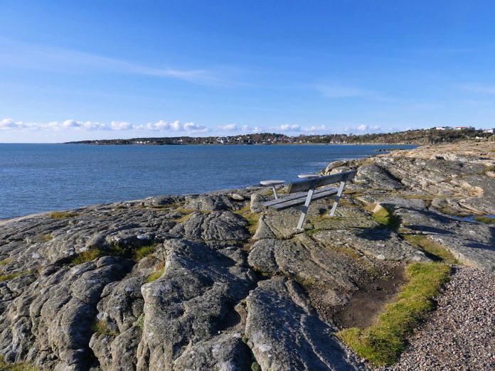 Åsa Strandpromenade, 1. Etappe fertiggestellt im Oktober 2017