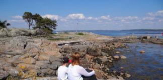 Gottskär auf der Halbinsel Onsala (Kungsbacka) - Ausflugsziel am Meer