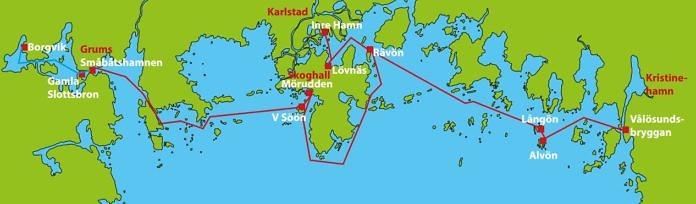 Inselhüpfen in den Schären des Vänern zwischen Kristinehamn und Karlstad