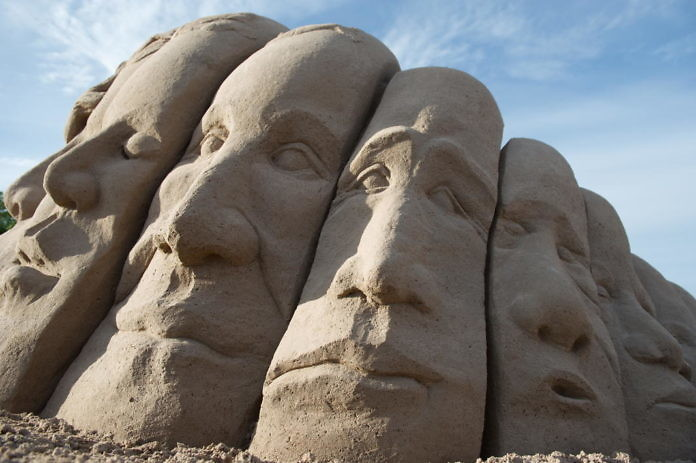 Sandskulpturfestival in Kalmar, 10. - 14. Juli 2017