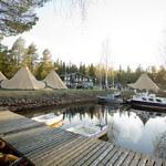 Feriendorf Brändön Lodge in Luleå