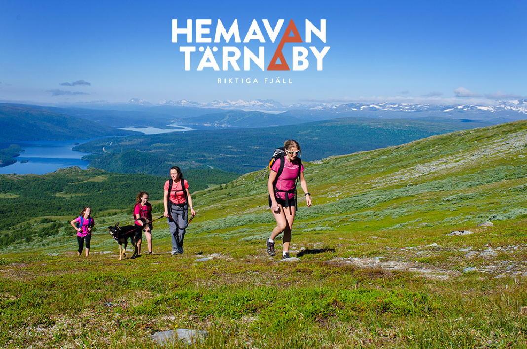 Hemavan Tärnaby nun mit gemeinsamem Auftritt - Nordschwedens größer Skiort