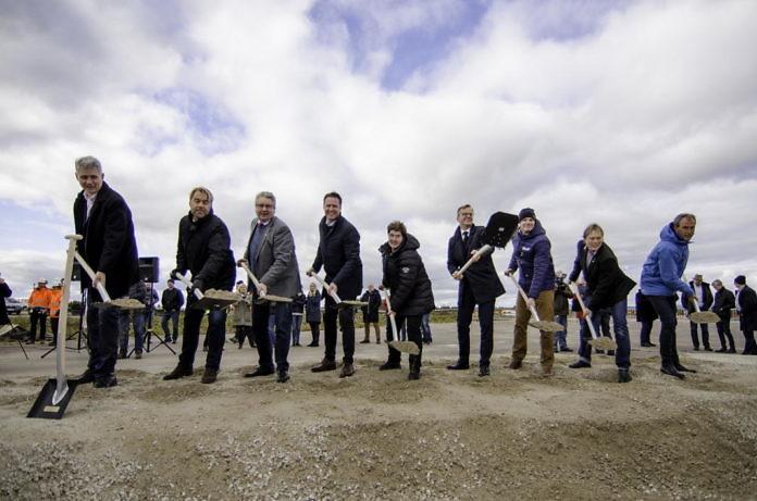 Flughafenneubau in Sälen begonnen: Erster Spatenstich für Scandinavian Mountains Airport