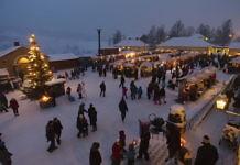 Weihnachtsmarkt in Falun