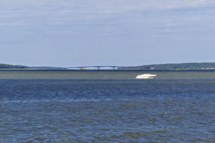 Brücke nach Torsö, Mariestad