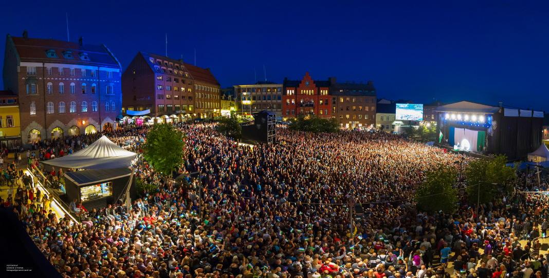 Östersund hat Schwedens besten Innenstadthandel