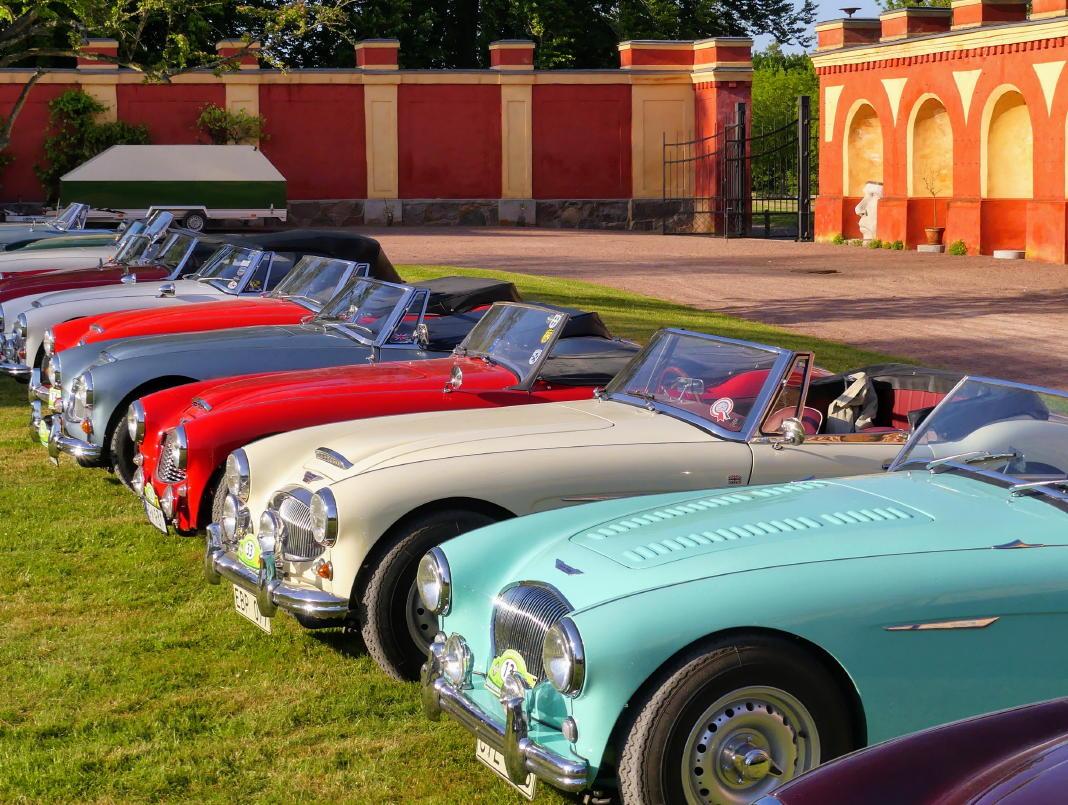 Austin-Healeys: Die schönsten Pos der Autogeschichte - Gesehen auf Schloss Bäckaskog, Kristianstad