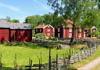 Das Dorf Stensjö by nördlich von Oskarshamn
