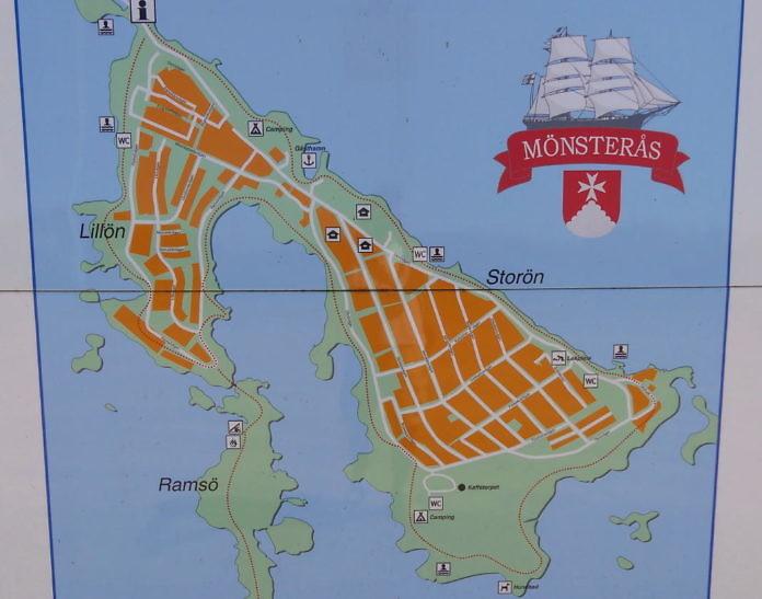 Die Insel Oknö bei Mönsterås
