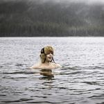 Winterbaden in Åre