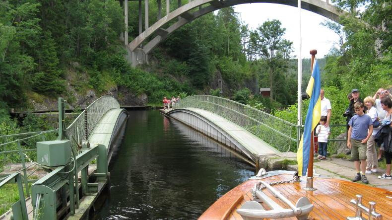 Aquädukt in Håverud, Dalsland