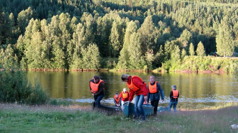 Biber-Safari auf dem Klarälven in Värmland