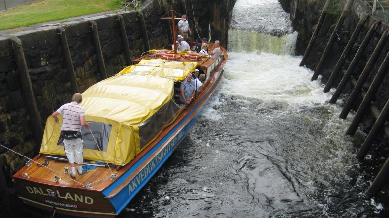 Bootsfahrt Dalsland