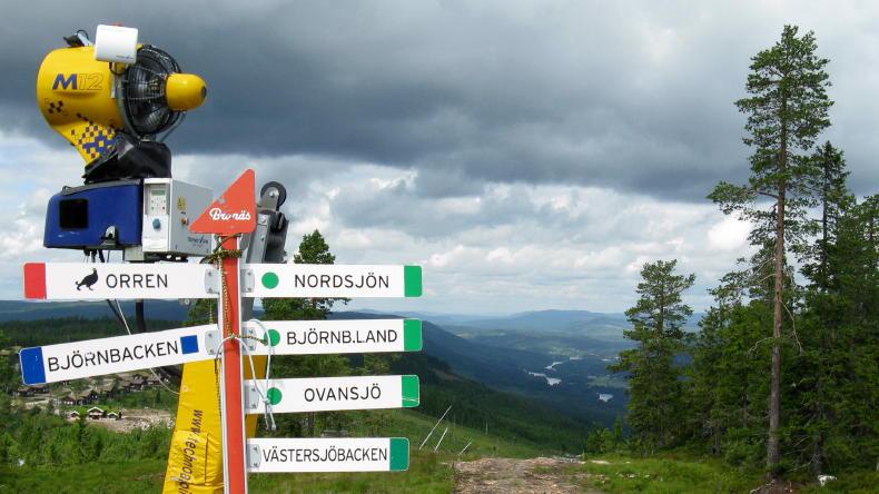 Branäsberget Gipfel-Café