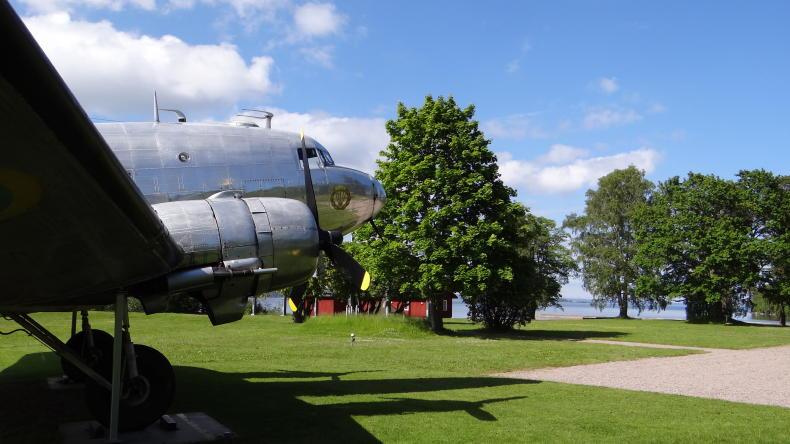 Douglas DC-3 in Karlsborg