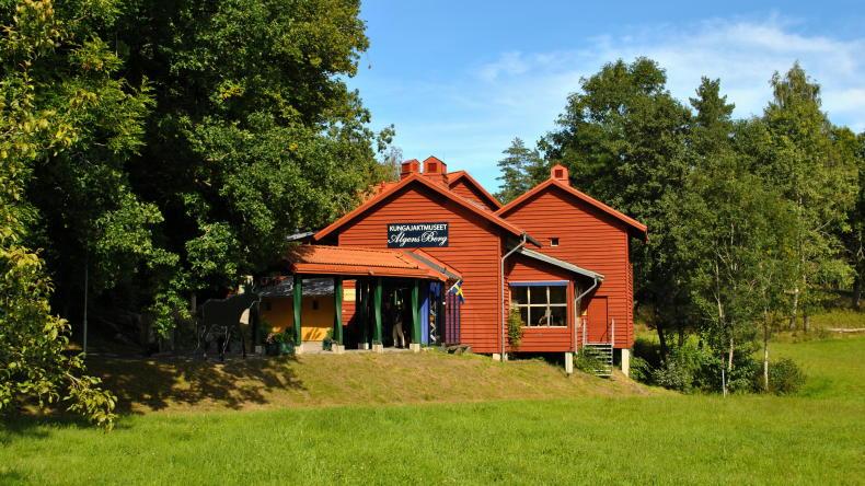 Jagdmuseum Älgens Berg im Ökopark Halle- und Hunneberg