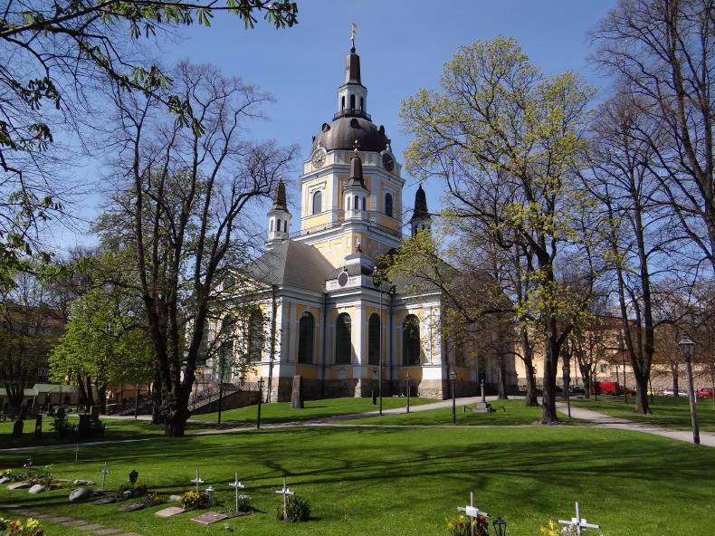 Katarina kyrka auf Södermalm, Stockholm